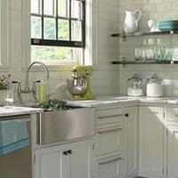 Decoraci n con muebles de cocina - Cocina estilo provenzal ...
