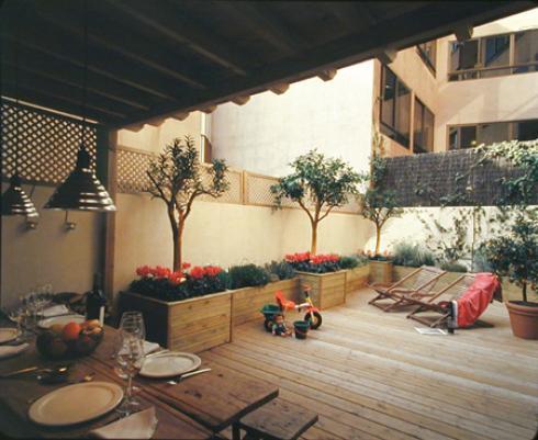 Decoraci n con muebles de flores merino y claros for Muebles de cocina worten