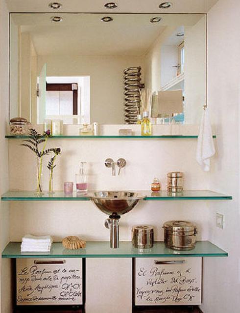 Decoraci n estilo moderno for Cuadros cuarto de bano originales