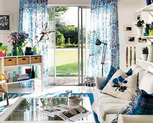 Decoraci n con muebles de ikea - Muebles estilo mediterraneo ...